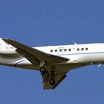 Аренда ритуального самолета Falcon 2000DX