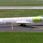 Аренда ритуального самолета Fokker 100