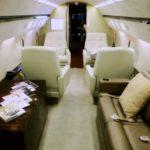 Аренда ритуального самолета Gulfstream IV